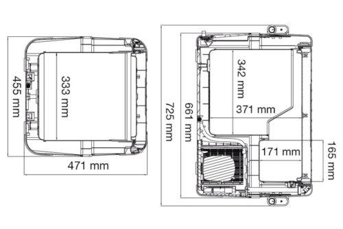 cfx-50-dimensions